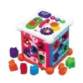 『121婦嬰用品館』 樂雅 Toyroyal 新六面盒