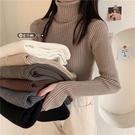 爆款加厚高領毛衣女秋冬季2020新款黑色針織上衣服洋氣內搭打底衫 童趣潮品