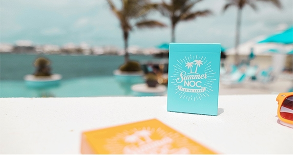 【USPCC撲克】Limited Edition Summer NOC (Blue) Playing Cards