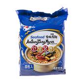 韓國農心安城湯麵(海鮮味)4入