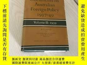 二手書博民逛書店documents罕見on australian foreign policy 1937-49Y20850 r