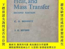 二手書博民逛書店Momentum罕見Heat,and Mass Transfer
