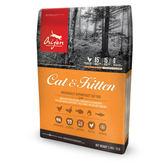 【Orijen】渴望貓專用牧野鮮雞配方-1.8kg X 1包