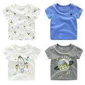 黑五好物節 兒童短袖T恤 2018夏裝新款男童寶寶女童童裝半袖小童打底衫U5856 東京衣櫃