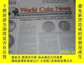二手書博民逛書店World罕見Coin News(Vol.20,No.17)(A