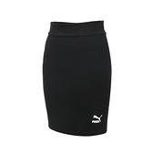 PUMA 女Classics短裙(歐規 休閒 A字裙 裙子 窄裙 針織  ≡排汗專家≡