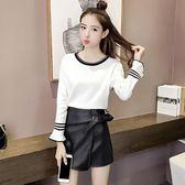 針織衫女秋裝2018新款韓版長袖保暖套頭打底衫短款修身半高領毛衣第七公社