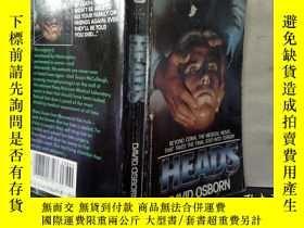 二手書博民逛書店罕見HEADS(英文原版)Y24355 DAVID OSBORN BANTAM BOOKS 出版1985