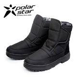 PolarStar 男 防潑水保暖雪鞋│雪靴│冰爪 P13622『黑』(內厚鋪毛)防滑鞋底.雪地靴.非UGG靴.雪地必備