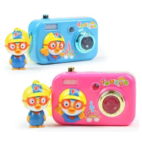 Pororo快樂小企鵝 音效小相機(2款顏色隨機出貨)_RR48040
