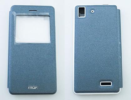 莫凡MOFi OPPO R7 金屬翻蓋皮套 金屬邊框+皮套系列
