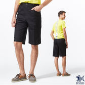 ~NST Jeans ~Classic Bk 夏日黑丹寧英文側帶鬆緊帶短褲中腰鬆緊修身版3