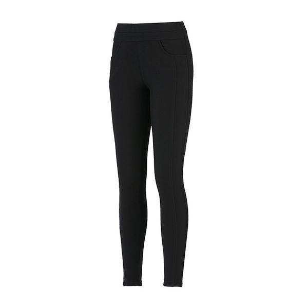 ADISI 女瘦身保暖彈性刷毛合身褲AP1821142 (S~2XL) / 城市綠洲 (舒適、保暖、休閒、時尚)