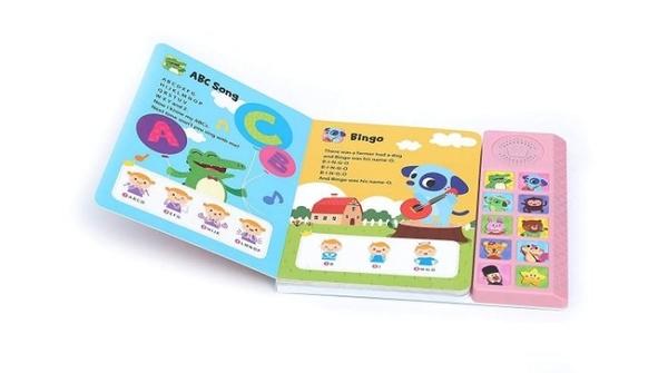 (正版 公司貨)Pinkfong Baby Shark 碰碰狐 孩子最愛有聲書 (SS15032) 英文