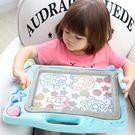 磁性寫字板 兒童畫畫板磁性寫字板寶寶嬰兒小玩具1-3歲2幼兒彩色超大號塗鴉板 歐歐流行館