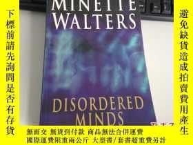 二手書博民逛書店Disordered罕見Minds 2003年版本 Minett