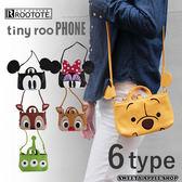 日本限定 ROOTOTE x DISNEY 聯名款 小熊維尼 背帶 手機側肩包
