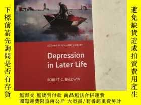 二手書博民逛書店Depression罕見in Later LifeY180607 外文看圖 外文看圖 ISBN:9780199
