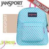 JANSPORT後背包包大容量JS-43501-3B4青春點點