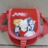 雪黛屋光之美少女小肩側包隨身物品 包萬用包防水尼龍手提   貨PCO1020 紅