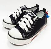 中童 專櫃普萊米 MIT帆布鞋《7+1童鞋》D257黑色
