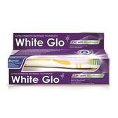 【澳洲White Glo】2合1漱口美白雙效牙膏150gX6入(即期)