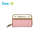 粉色款【日本正版】拉拉熊 皮革 零錢包 卡片包 懶懶熊 Rilakkuma San-X - 428607