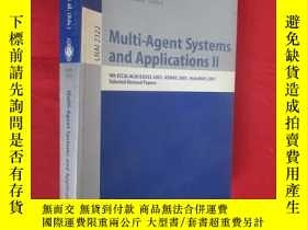 二手書博民逛書店Multi-agent罕見systems and applications II (小16開) 【詳見圖】Y5