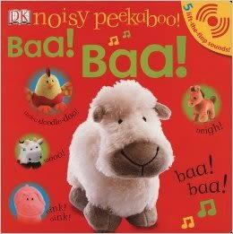 【幼兒聲音書】BAA BAA /NOISY PEEKABOO!  (和寶寶玩捉迷藏-進階聲音版)