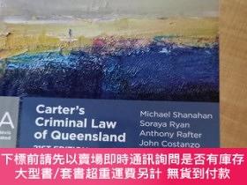 二手書博民逛書店【外文原版】罕見Carter s Criminal Law of Queensland 21ST EDITION