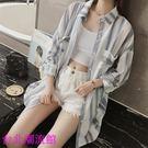 防曬衣女夏季正韓學生寬鬆bf中長款薄外套防曬服女防紫外線開衫