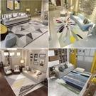 地毯客廳現代簡約家用沙發茶幾墊幾何北歐長...
