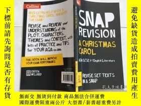 二手書博民逛書店A罕見Christmas Carol: AQA GCSE 9-1English Literature Text G