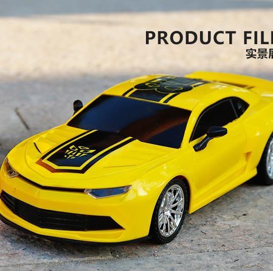 兒童玩具遙控汽車充電男孩無線電動開門漂移賽車跑車黃蜂車模耐摔 ys5042『毛菇小象』