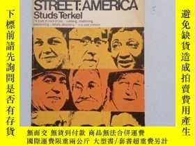 二手書博民逛書店DIVISION罕見STREET : AMERICAY10445 by Studs Terkel DISCUS