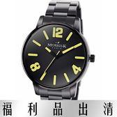 【台南 時代鐘錶 】MORRIS K 擁你入懷 玩色個性潮流女錶 MK11095-MB21