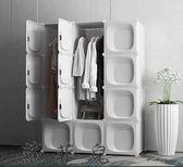 簡易衣柜子組裝臥室布衣櫥