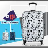 【週末23點福利開搶】行李箱 Samsonite新秀麗Kamiliant卡米龍24吋旅行箱超輕量(3.3 kg)硬殼塗鴉冒險