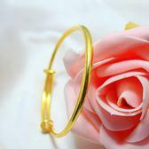 虧本衝量-送戒指沙金飾品韓國女士手鍊首飾轉運珠手串 久不褪色鍍金手鐲 快速出貨