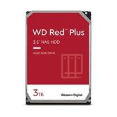 硬碟 WD 3T B 3.5吋 SATA3 紅標Plus 內接硬碟 (3年保) EFRX WD30EFRX