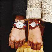 韓版簡約潮流時尚休閒石英手錶男表女表中學生情侶一對李易峰同款 米娜小鋪