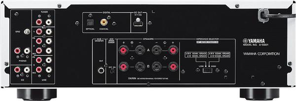 YAMAHA 山葉 A-S301 高音質迴路設計 Hi-Fi 綜合擴大機 【公司貨保固+免運】