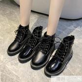 顯腳小馬丁靴女2020年新款短靴女秋冬季英倫風春秋單靴網紅瘦瘦靴 雙12購物節