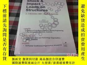二手書博民逛書店Shock罕見& lmpact Loads on Structu