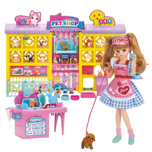 特價 莉卡娃娃 莉卡寵物美容店豪華組_LA13949