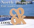 North Europe-北歐風字體熱墊板 隔熱板 【COOK】