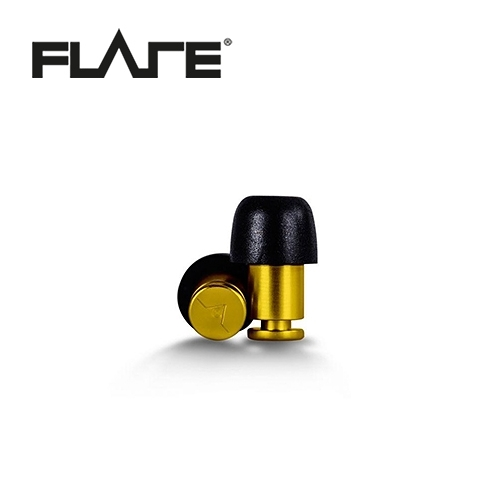 【敦煌樂器】Flare Isolate 系列鋁製專業級英國防躁耳塞 耀眼黃色款