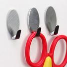 不鏽鋼強力掛勾(六入) 廚房 衛浴 懸掛 黏貼 壁掛 裝飾 收納 門背【Q318】米菈生活館