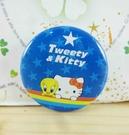 【震撼精品百貨】Hello Kitty 凱蒂貓~KITTY別針-圓形造型-藍星星
