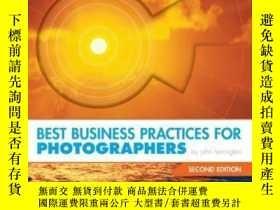 二手書博民逛書店Best罕見Business Practices For Photographers, Second Editio